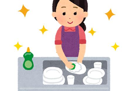 調理器具類の除菌洗浄